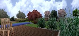 Ogród w Jablonce